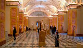Hermitage Museum in St. Petersburg, Russia