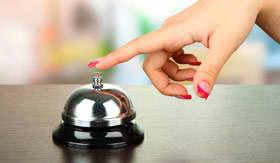 Customer service bell
