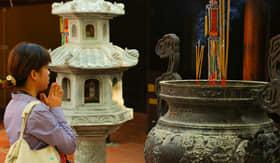 Hanoi Pagoda in Vietnam