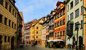 Streets of Nuremberg, Germany