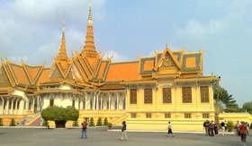 Phnom Penh Royal Palace, Cambodia