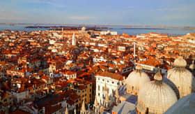 Skyline of Venice, Italy
