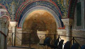 Church mosaic in Ravenna, Italy