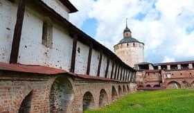 Goritsy Monastery in Russia
