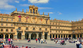 Plaza Mayor in Salamanca, Spain