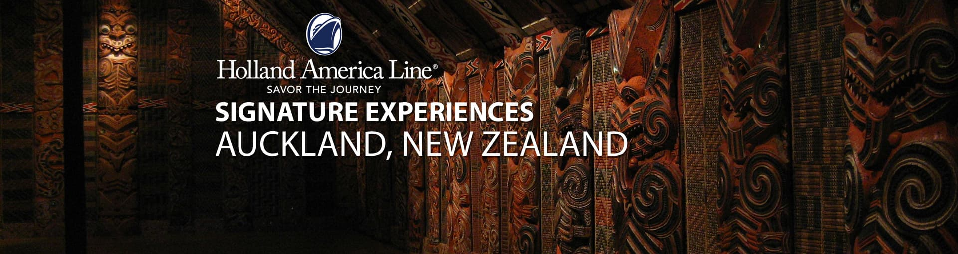 Holland America Signature Experiences - Auckland, New Zealand