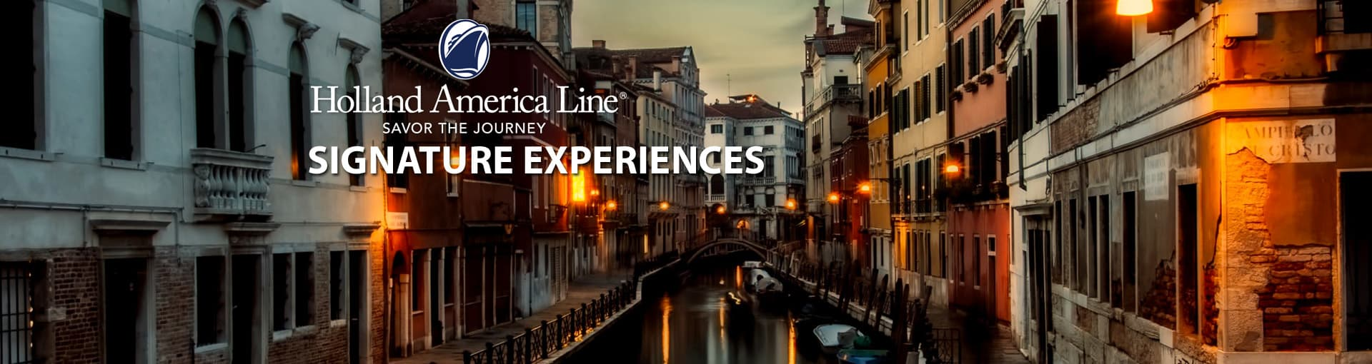 Holland America Signature Experiences
