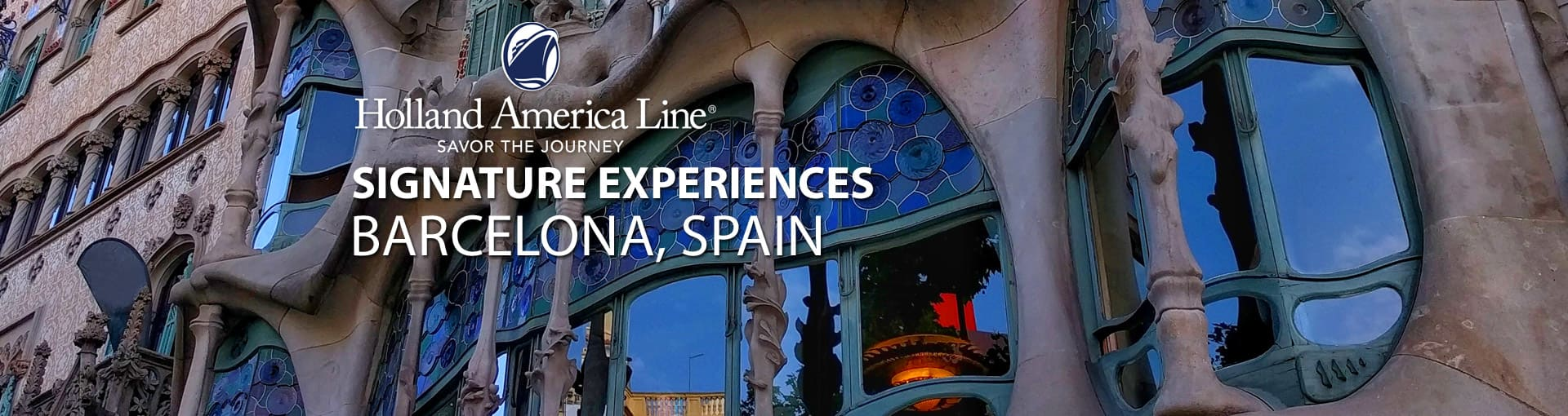 Holland America Signature Experiences - Barcelona, Spain