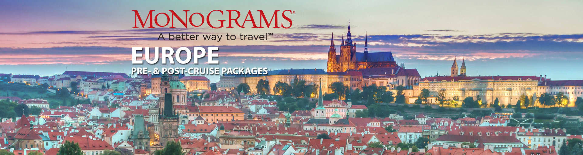 Monograms Europe Vacation Packages