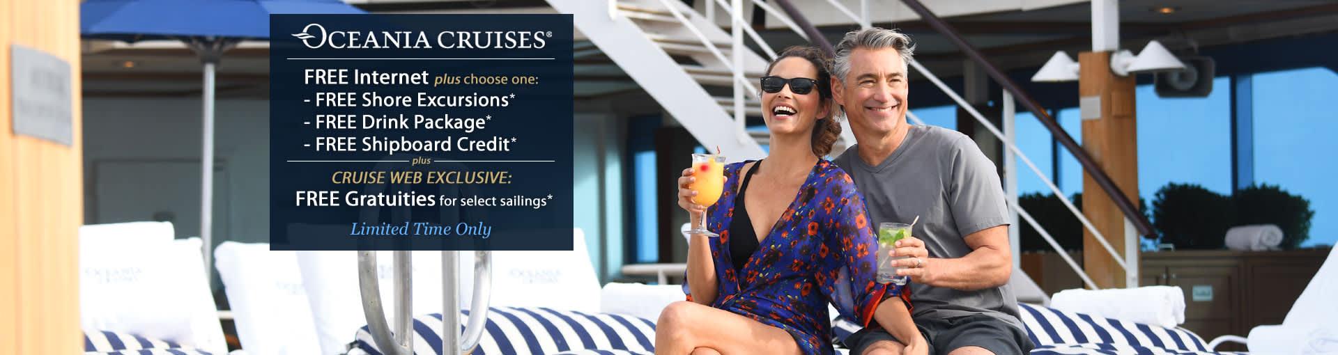 Oceania Cruises - OLife Choice Sale
