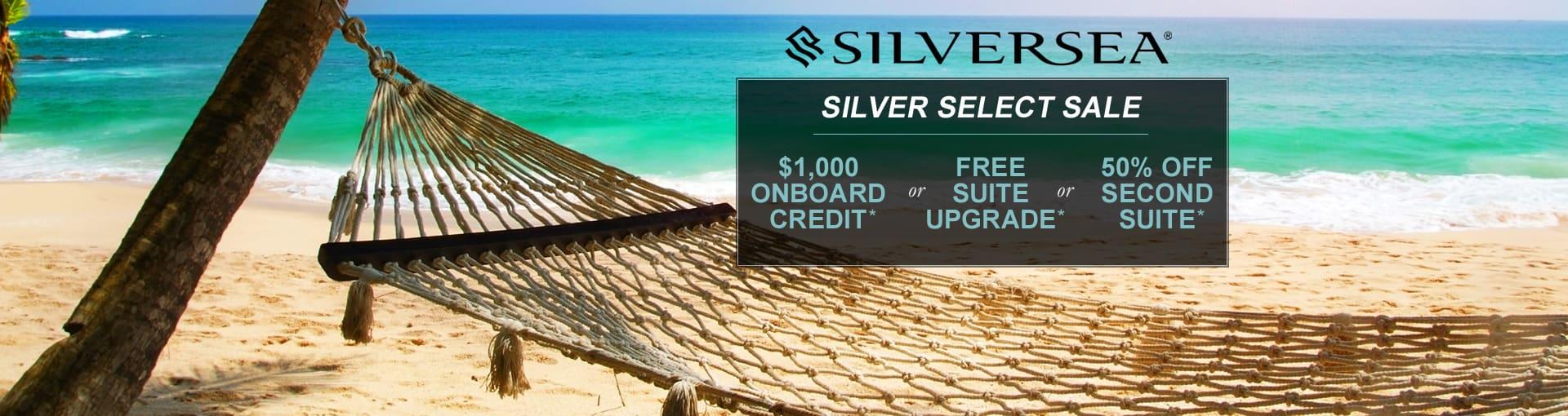 Silversea Cruises - Silver Select Sale