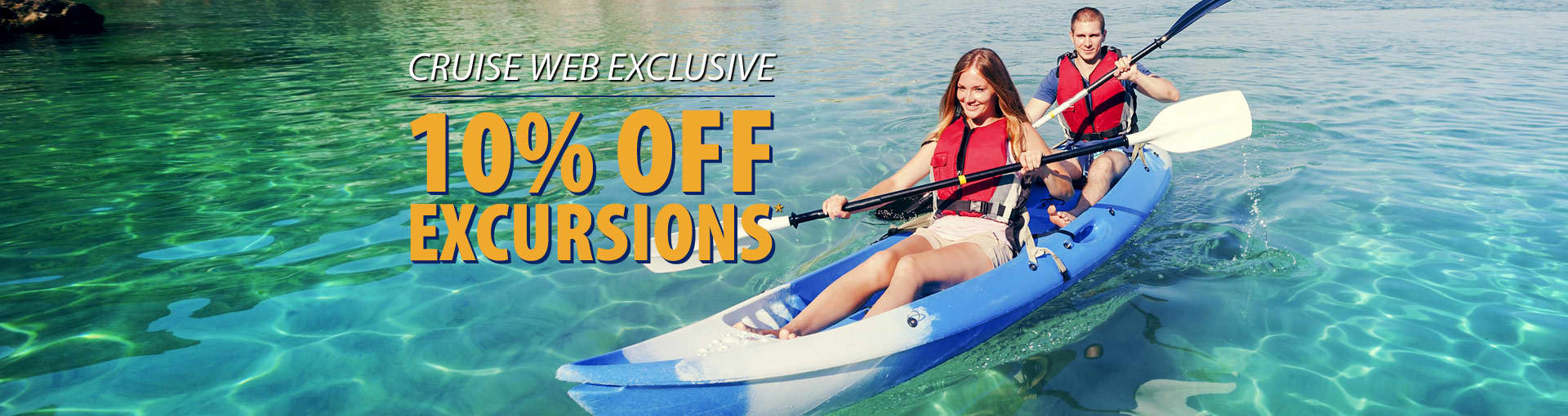 10% Off Excursions with The Cruise Web