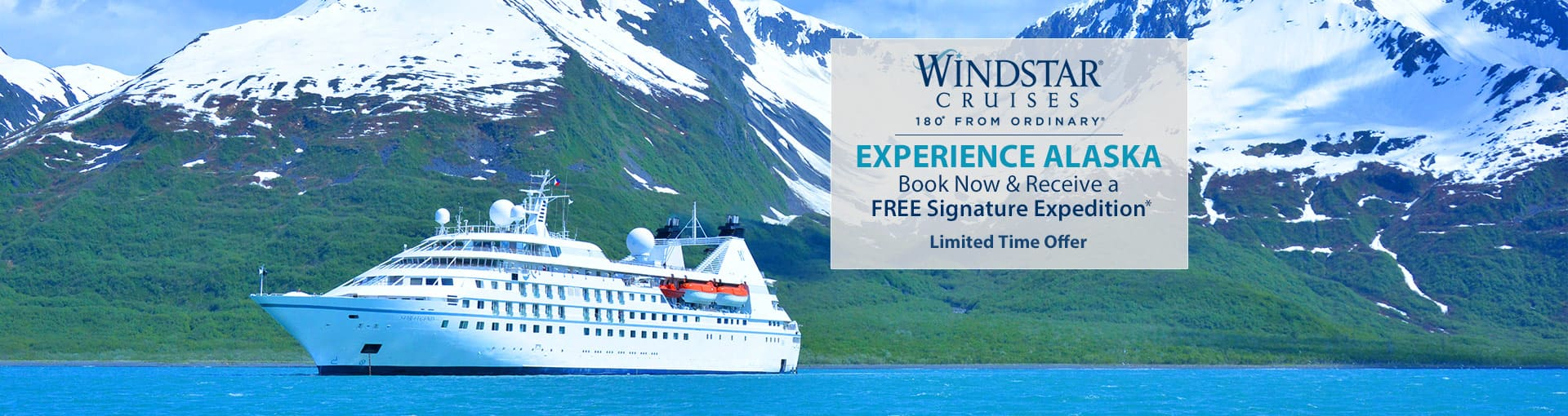 Windstar Cruises: Alaska Sale