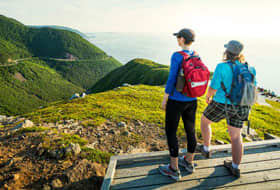 Hiking in Sydney, Nova Scotia - The Cruise Web