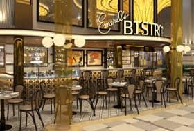Emeril's Bistro - Courtesy of Carnival Cruise Line