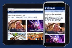 Navigator App - Courtesy of Holland America Line