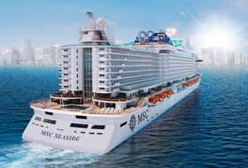 MSC Seaside - Courtesy of MSC Cruises