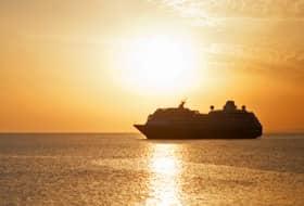 Ship and Sunset - Courtesy of Azamara Club Cruises