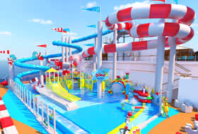 Dr Seuss WaterWorks - Courtesy of Carnival Cruise Lines