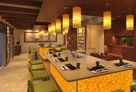 Bonsai Teppanyaki - Courtesy of Carnival Cruise Lines