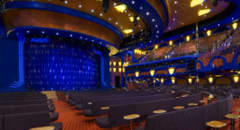 Cruise Ship Lounge Theater - Courtesy of Carnival Cruise Lines