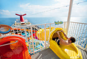 Waterslides - Courtesy of Carnival Cruise Lines