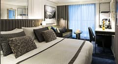 Suite - Courtesy of Crystal Cruises