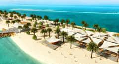 Sir Bani Yas Island - Courtesy of MSC Cruises