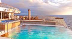 Viking Sea Infinity Pool - Courtesy of Viking Oceans
