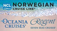 Norwegian Cruise Line, Oceania Cruises and Regent Seven Seas Cruises