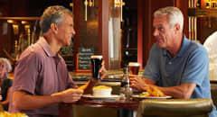 Pub dining - Courtesy of Princess Cruises
