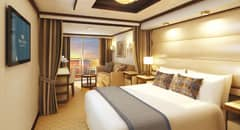 Mini-Suite - Courtesy of Princess Cruises