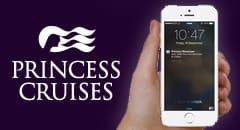 Princess@Sea Messenger App - Photo courtesy of Princess Cruises