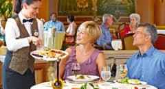 Princess Cruises Specialty Dining - Courtesy of Princess Cruises