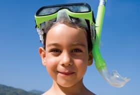 Boy with Snorkel Gear - Courtesy of Royal Caribbean