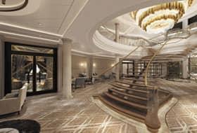 Grand Atrium - Courtesy of Regent Seven Seas Cruises