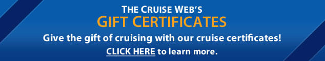 Gift Certificates from The Cruise Web
