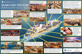 Seabourn Encore Infographic