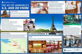 Uniworld Joie de Vivre Infographic