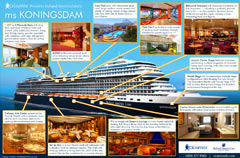 Holland America ms Koningsdam Infographic