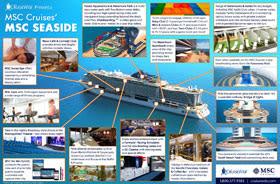 MSC Seaside Infographic
