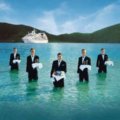 Seabourn - Caviar in the Surf