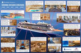 Viking Oceans Ships Infographic
