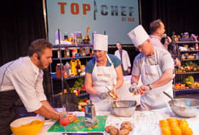 Top Chef at Sea, Courtesy of Celebrity Cruises