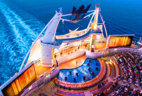 Harmony of the Seas AquaTheater - Courtesy of Royal Caribbean