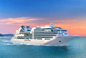 Seabourn Encore Rendering - Courtesy of Seabourn
