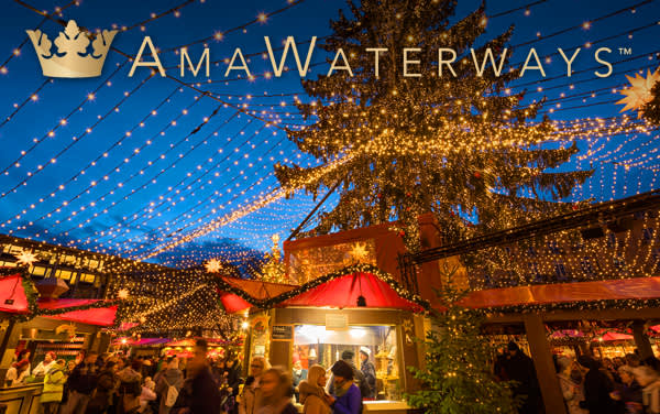 AmaWaterways Holiday river cruises from $2,538*