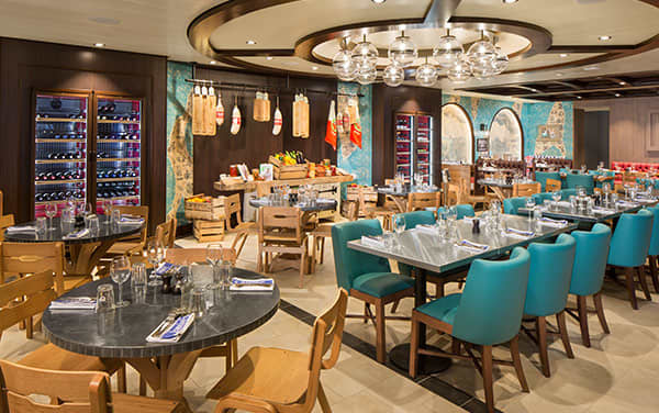 Navigator Of The Seas Dining Vendor Experience