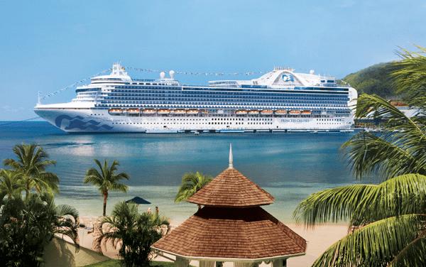 Princess Cruises-Crown Princess
