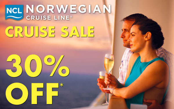 Norwegian Cruise Line: 30% OFF*